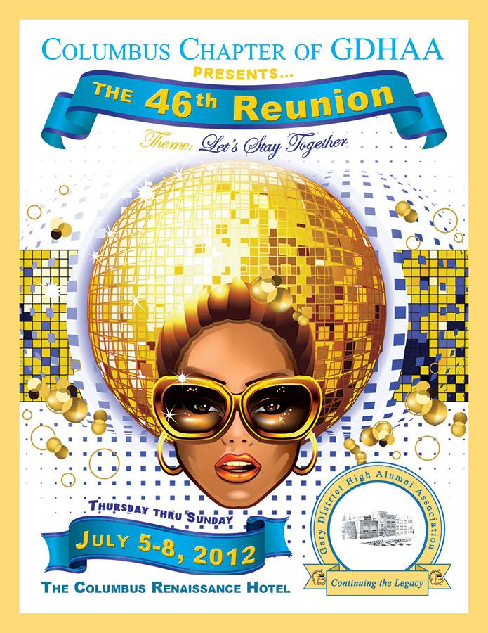Gary District Alumni Association flyer