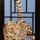 Cheetah acrylic on wood