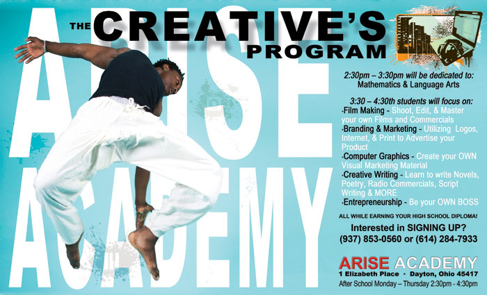 Arise Academy poster