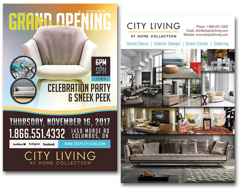 City Living flyer