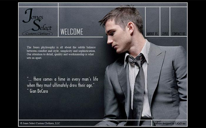 Jones Select Website - LiQiD inc