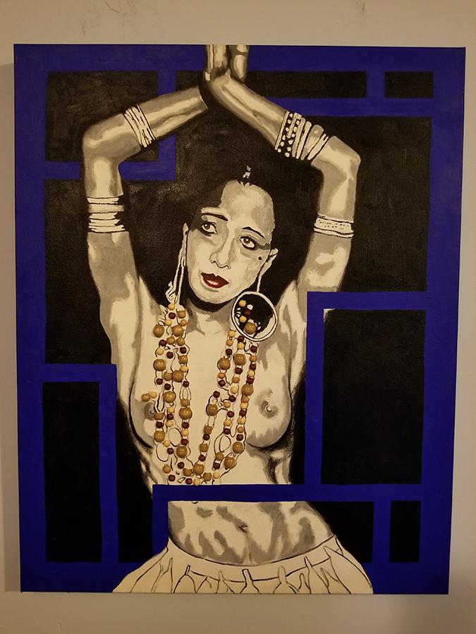 Josephine Baker portrait
