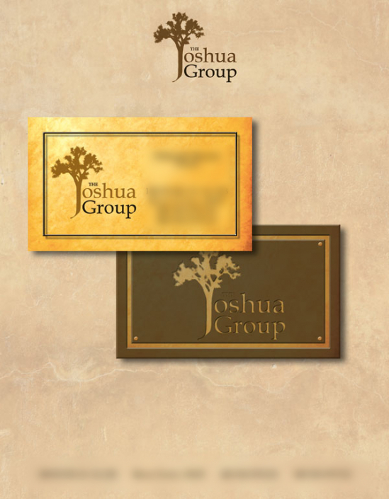 The Joshua Group corporate identity design