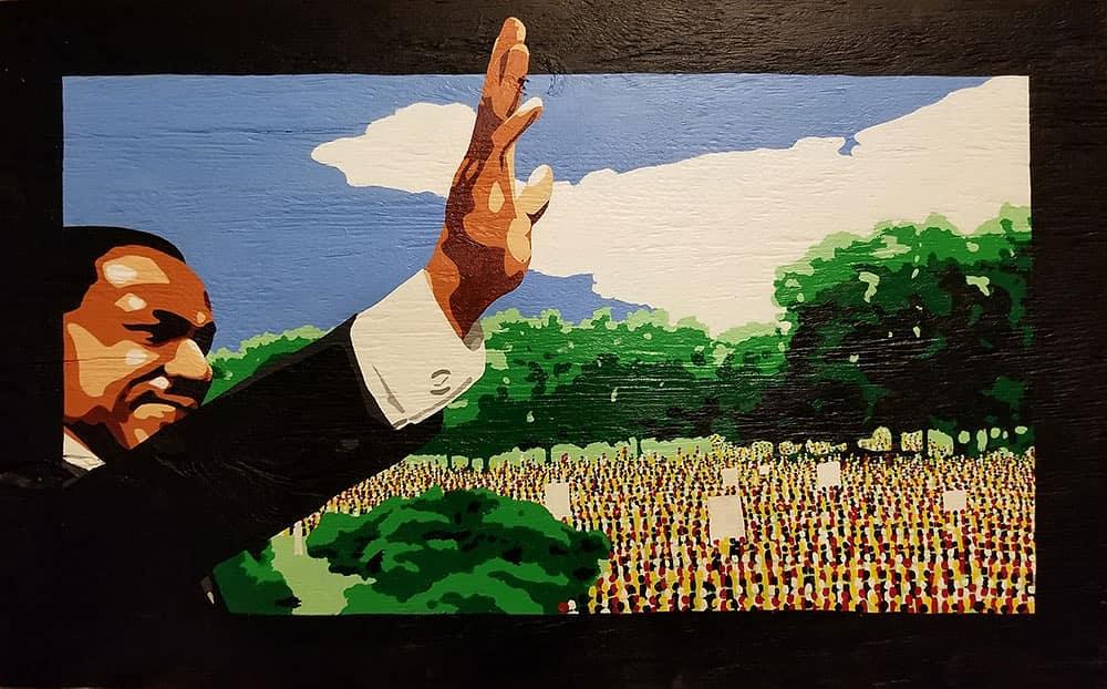 Martin Luther King, Jr portrait