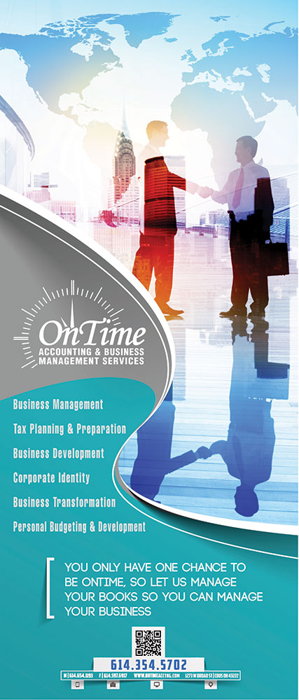 OnTime Accounting corporate identity