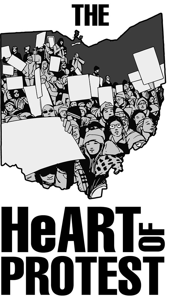 The Heart of the Protest logo